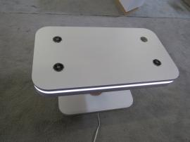 Modified MOD-1467 Charging Table with Wireless and Wired Ports and LED Perimeter Lights