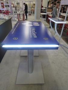 MOD-1472 Wireless/Wired Charging Table with Graphics and LED Perimeter Accent Lights