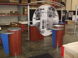 Visionary Designs VK-1012 Trade Show Display with LTK-1015 Pedestals -- Image 1