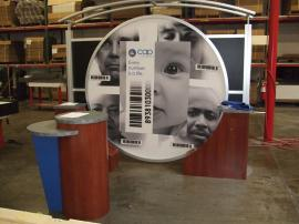Visionary Designs VK-1012 Trade Show Display with LTK-1015 Pedestals -- Image 2