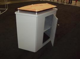 LTK-1011 Modular Laminate Counter with Locking Storage -- Image 2