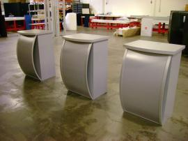 MOD-1121 Pedestals Modified with Storage