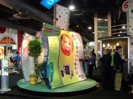 Classic Exhibits 20' x 20' booth at TS2 2008 in Philadelphia -- Image 1