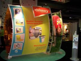 Classic Exhibits 20' x 20' booth at TS2 2008 in Philadelphia -- Image 3