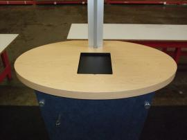 MOD-1133 Modular Workstation with MOD-211 iPad Counter Top Insert Option -- Image 1