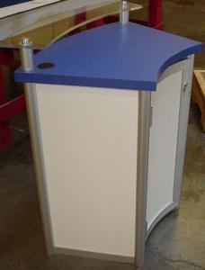 LTK-1109 Modular Pedestal with Locking Storage
