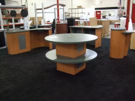 Custom Modular Trade Show Counters -- Image 1