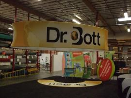 Aero Overhead Hanging Signs for Trade Shows -- Image 1