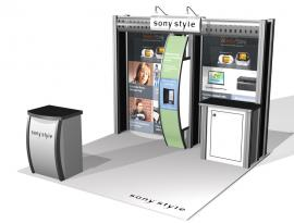 Visionary Designs 10' x 10' Hybrid Display -- VK-1029 -- Image 3
