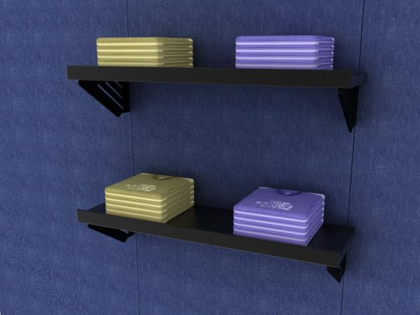 PU-530/532 Flat/Slant Shelf (flat view)