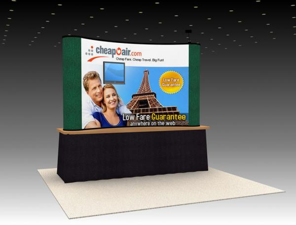 QD-06 Trade Show Table Top Exhibit