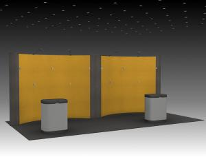 QD-213 Trade Show Pop-up Display