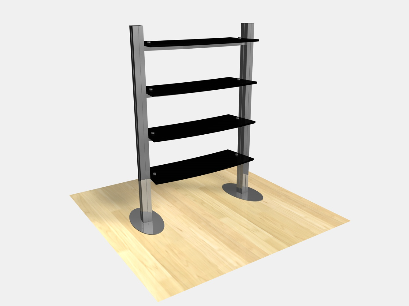 Exhibition Stand Shelves : Exhibit design search re freestanding shelf