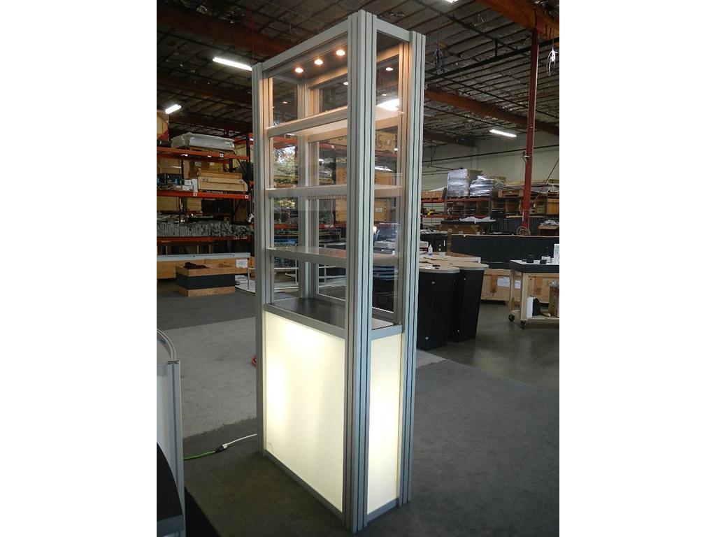 Exhibit Design Search Re 500 Single Display Case