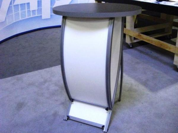RE-1213 Rental Display / Counter with Monitor Arm / Workstation -- Image 3