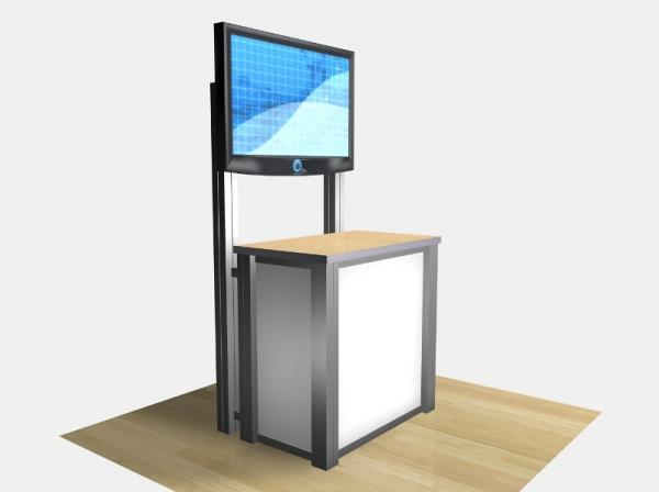 RE-1232 / Rectangular Counter Kiosk - Image 6