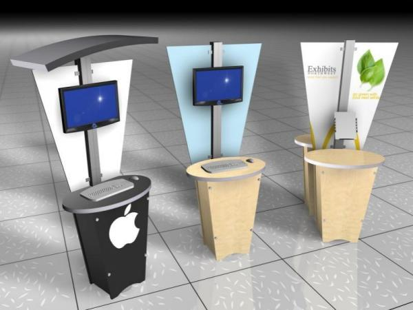 RE-1212 Rental Display / Kiosk / Workstation -- Image 5