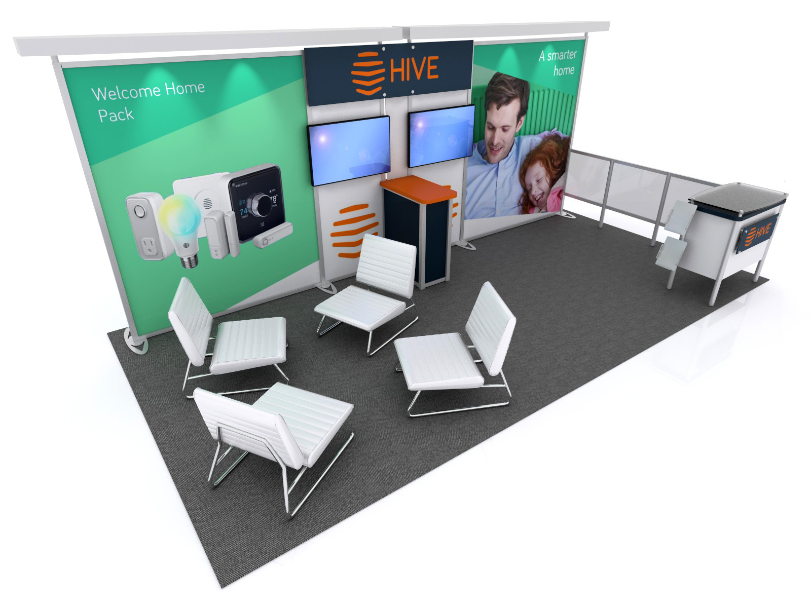 ... RE 2085 Trade Show Display    Image 1 ...