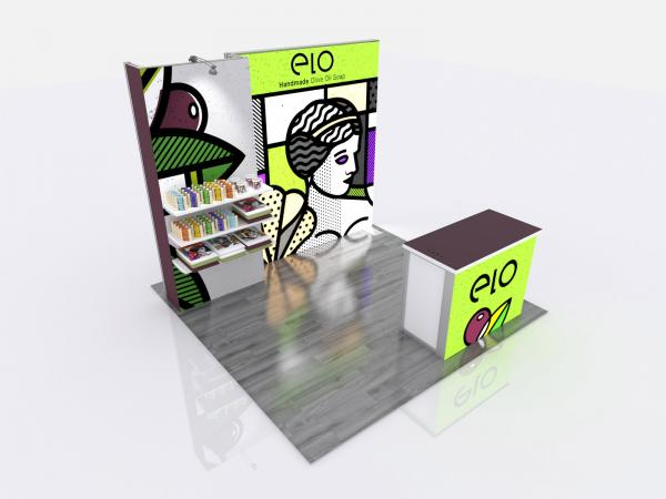 RE-1062 Gravitee Modular Inline Exhibit -- View 2