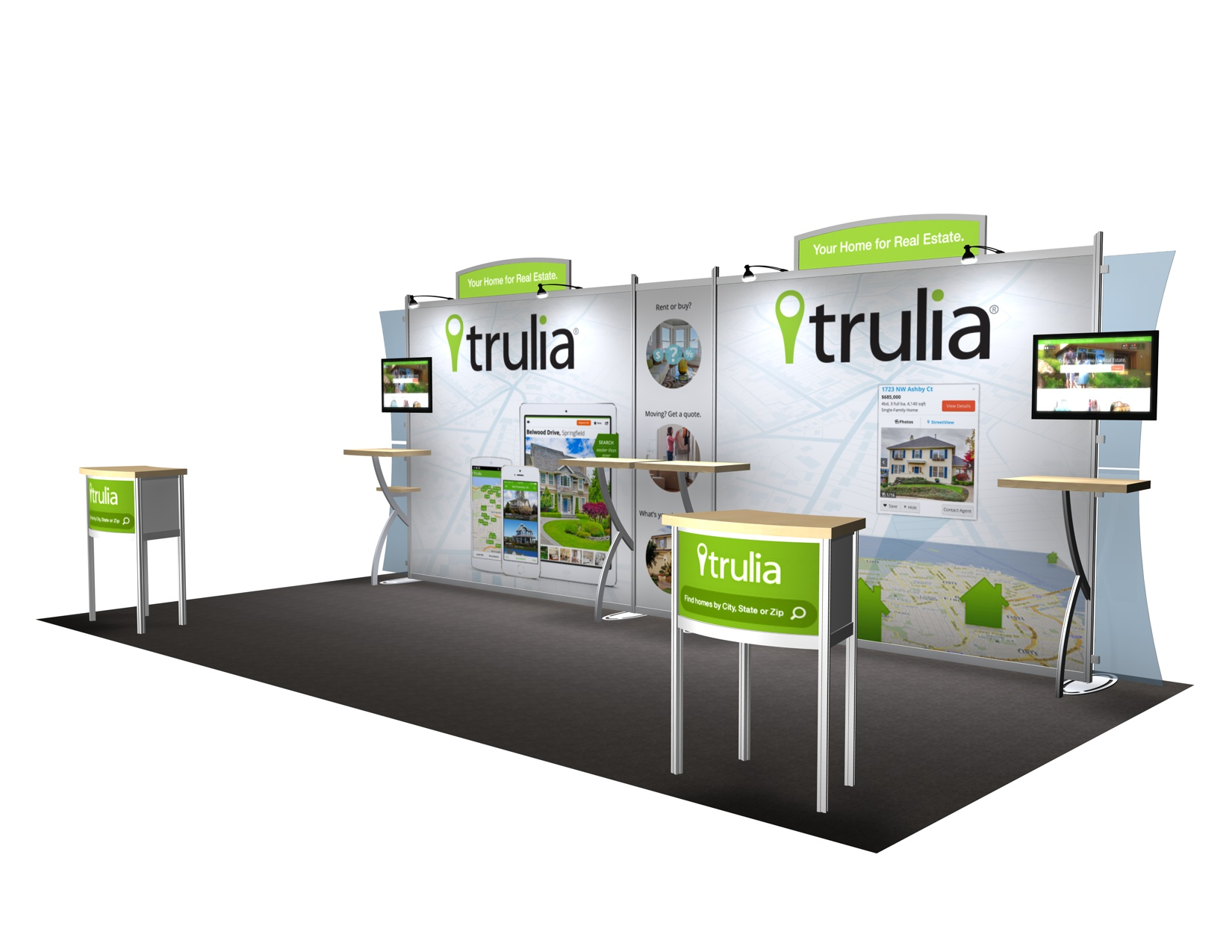 Trade Display Stands : Exhibit design search vk sacagawea ft