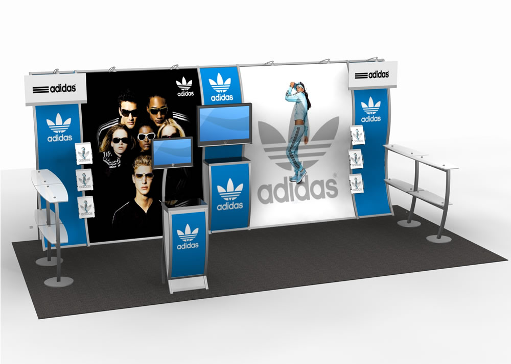 Trade Show Booth Objectives : Exhibit design search vk portable ft