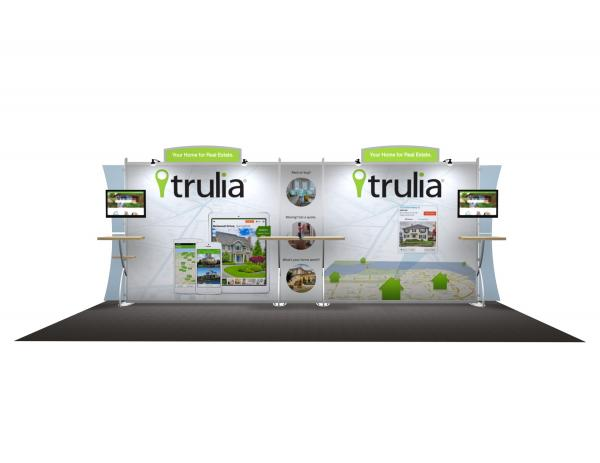 VK-2110 Portable Hybrid Trade Show Exhibit -- Image 1