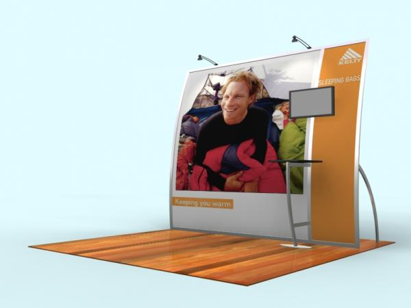 VK-1064 Portable Trade Show Exhibit