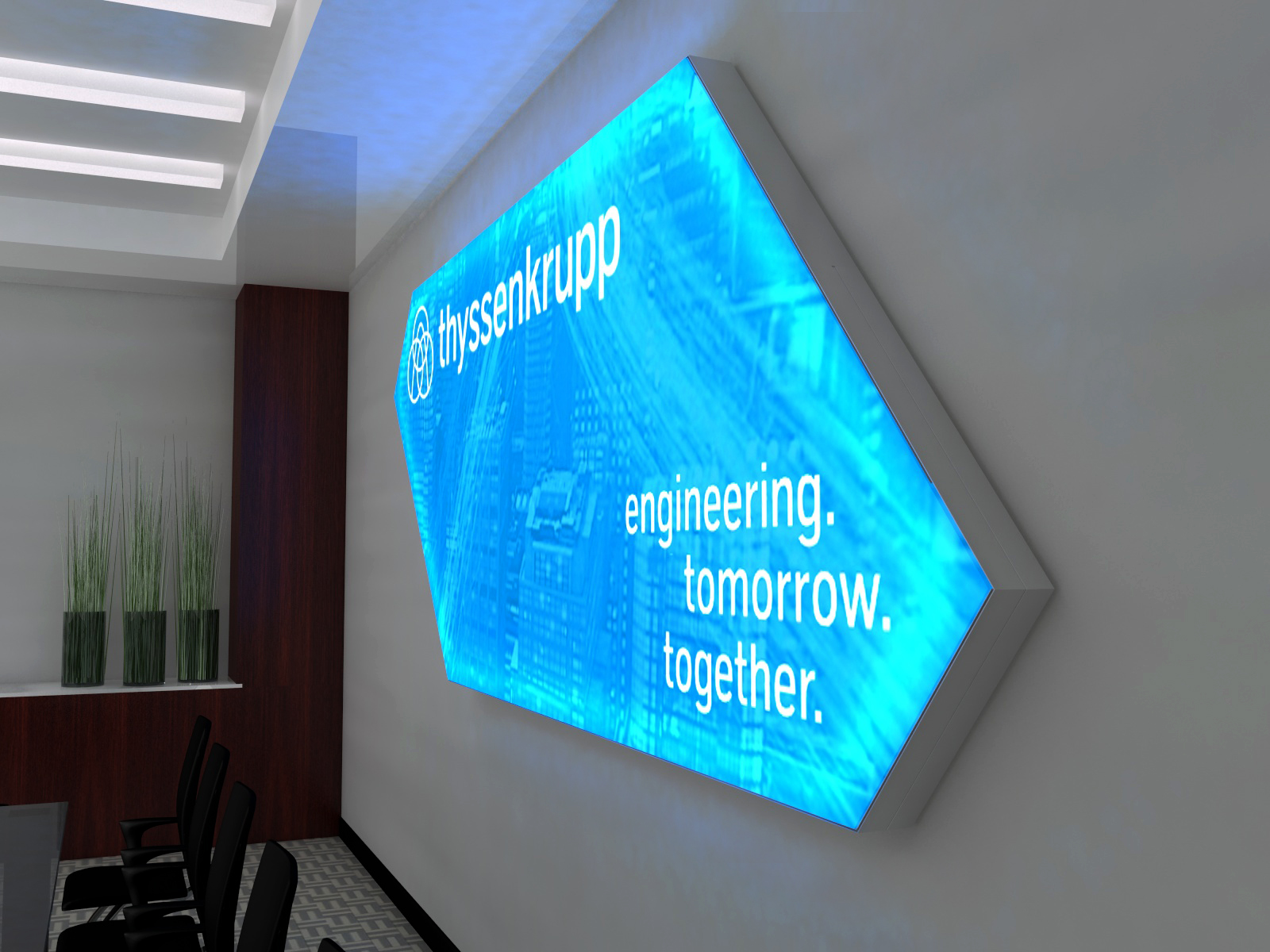 SuperNova LED Lightboxes -- Boardroom -- View 3