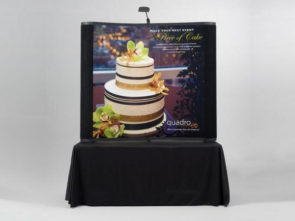 EO-01A Table Top Pop Up Display
