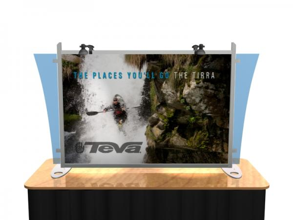 VK-1290 Portable Hybrid Trade Show Table Top Exhibit -- Image 2