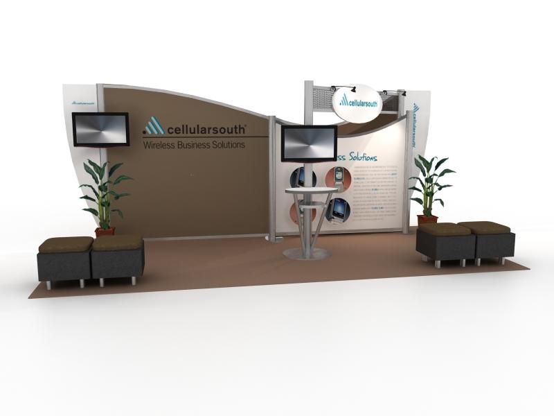 Exhibition Booth Accessories : Exhibit design search vk hybrid inline modern