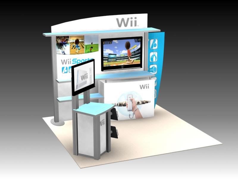 Exhibition Booth Header : Exhibit design search vk hybrid inline visionary