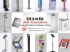iPad Kiosks and Stands Ad