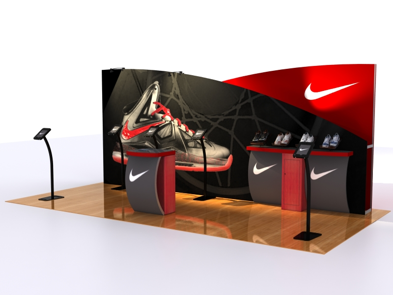 Exhibition Stand Quotation : Vk nike trade show tales