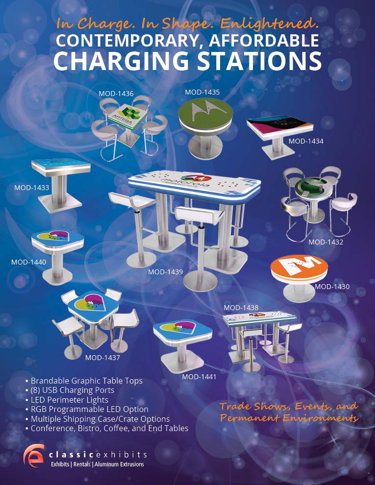 Trade Show and Event Charging Stations