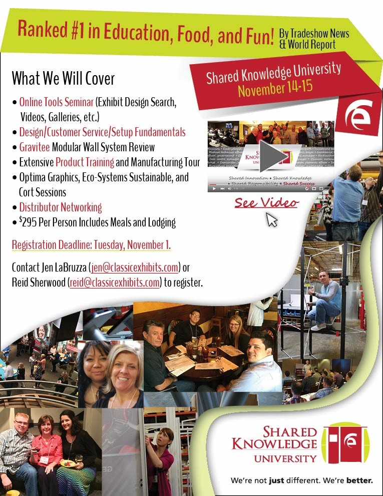 Shared Knowledge University Fall 2016 | Classic Exhibits