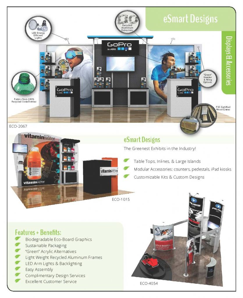 Sustainable Trade Show Displays