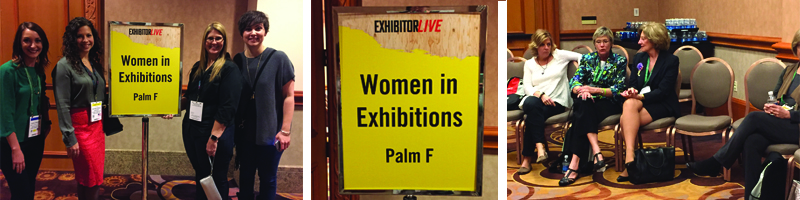 Women in Exposition Meeting at EXHIBITOR