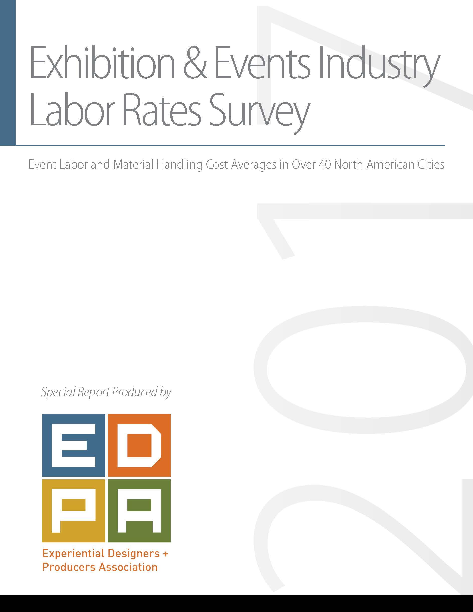 2017 EDPA Labor Rates Study