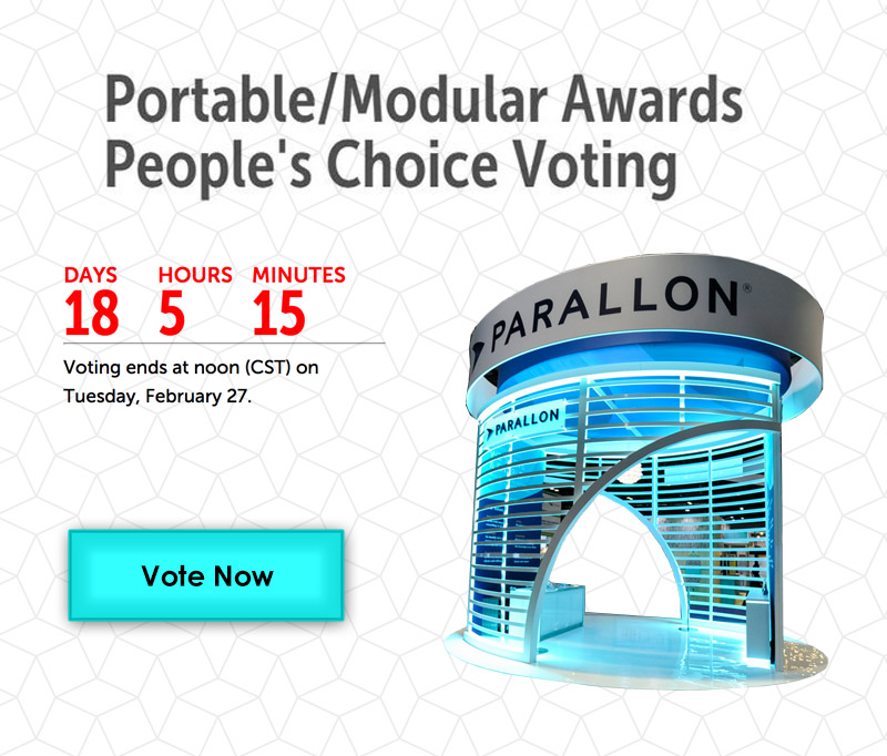 EXHIBITOR Portable Modular Awards 2018