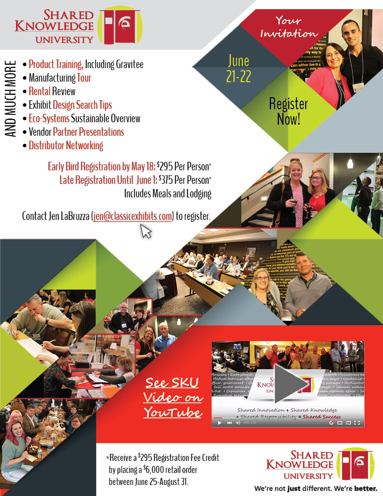 Shared Knowledge University at Classic Exhibits