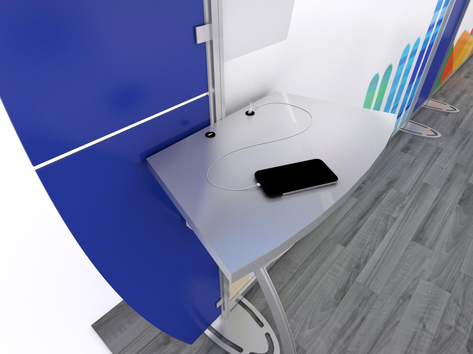 Sacagawea Portable Hybrid Display, USB Charging Ports