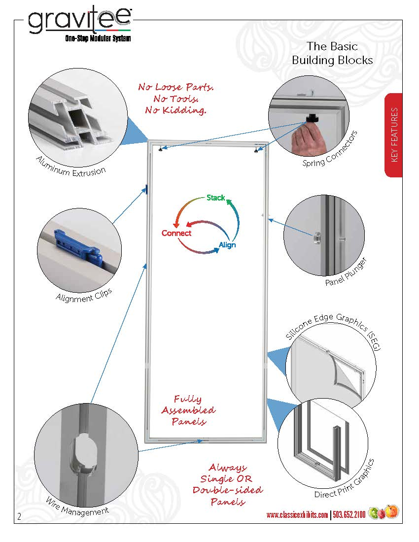 Gravitee One-Step Modular Wall System