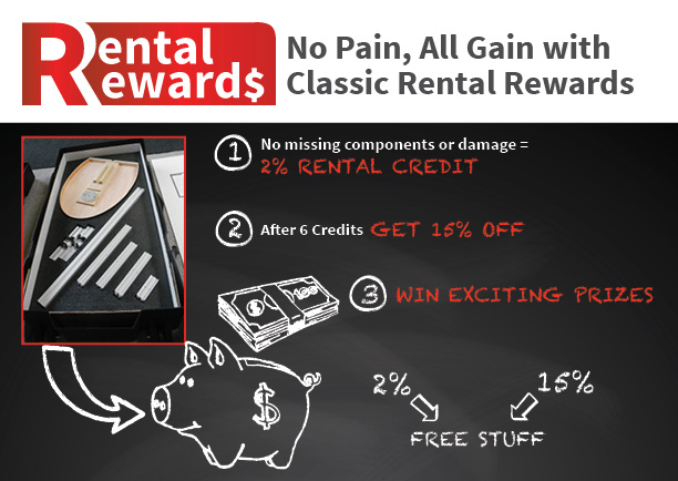 Classic Exhibit Rental Rewards Program