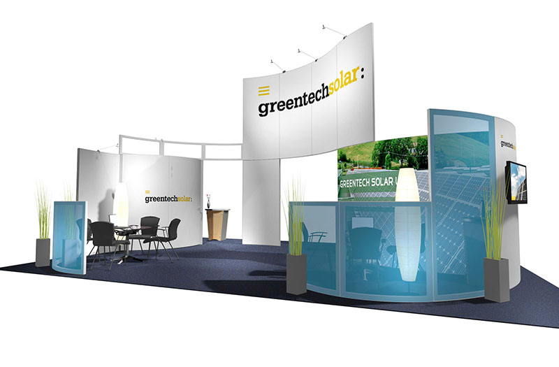 Trade Show Island Rental Exhibits from Classic Rental Solutions