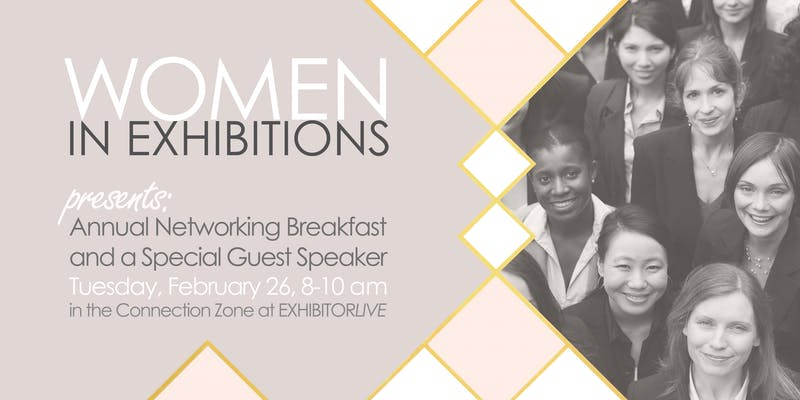 Women in Exhibition Breakfast Meeting at EXHIBITORLIVE 2019