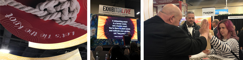 Erica Dougherty and EXHIBITORLIVE 2019