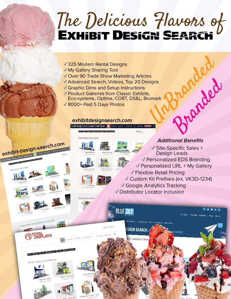 The Branded and Unbranded Versions of Exhibit Design Search | Trade