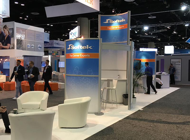 Trade Show Rental Exhibit from Classic Rental Solutions