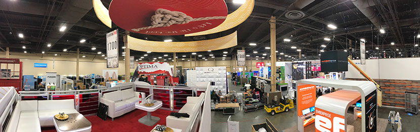 Installation and Dismantle on the trade show floor